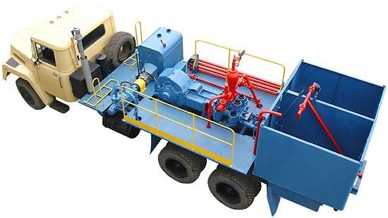 Цементировочный агрегат ЦА-320 (поршневой насос 9ТМ) в наличии и на заказ
