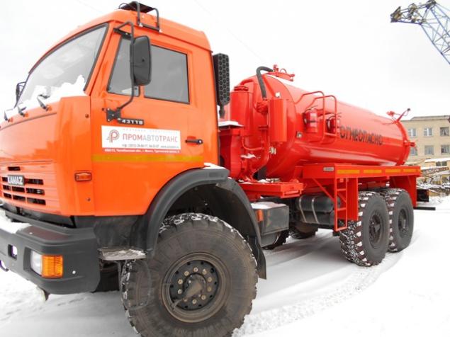 АКН-10-ОД на шасси КАМАЗ 43118 в наличии и на заказ