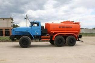 АТЗ-7,5 на шасси Урал (Топливозаправщик 7,5 м/куб) в наличии и на заказ