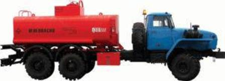 АТЗ-9 на шасси Урал (Топливозаправщик 9м/куб) в наличии и на заказ