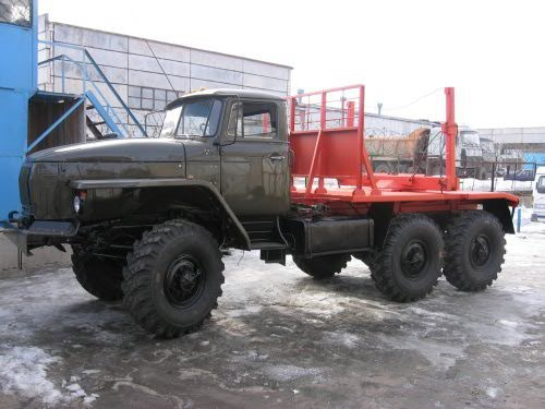 Лесовоз УРАЛ 4320 ДВС ЯМЗ-236 в наличии и на заказ
