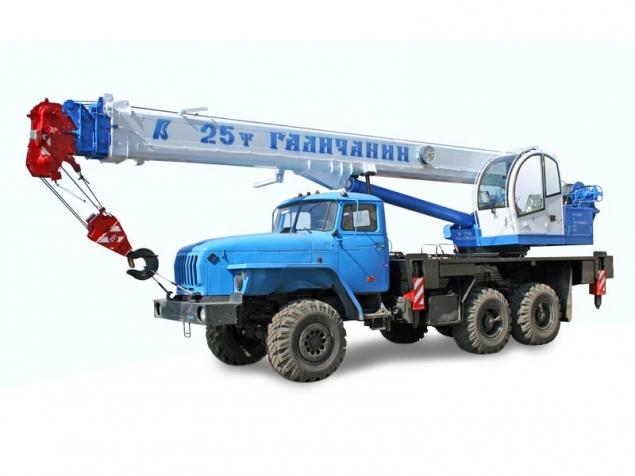 КС-55713-3 (Галичанин, Клинцы, грузоподъемность 25 тонн) в наличии и на заказ