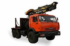 Лесовоз КАМАЗ 43118 с манипулятором ОМТЛ-97  в наличии и на заказ