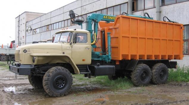 Ломовоз УРАЛ-4320 с КМУ в наличии и на заказ