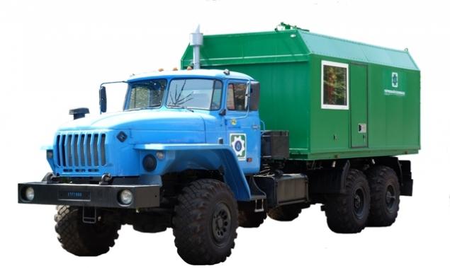 ППУА 1600/100 на шасси Урал-4320-1912-41 в наличии и на заказ