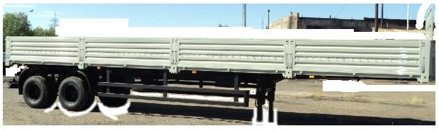 Полуприцеп 9334-20-11 (г/п 17 т, L-10.16 м односкатный, двухосный, бортовой) в наличии и на заказ