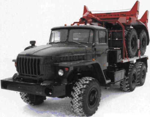 Трубовозный тягач на базе Урал 43204-1153-41 в наличии и на заказ