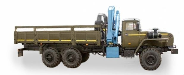 Урал 4320-0111-41 (КМУ ИМ-25 г/п 0,9 т, вылет стрелы 3,7 м) в наличии и на заказ
