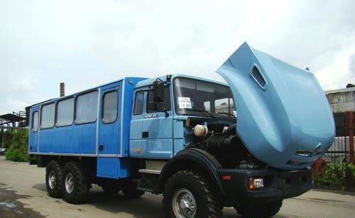 Вахтовый автобус Урал-3355-0010-59 (28 мест) в наличии и на заказ