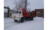 Изображение Сортиментовоз КАМАЗ 43118-46 (Евро-4) с гидроманипулятором ЛВ-185-14