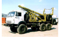 Изображение Лесовозный тягач (хлыстовоз) КАМАЗ 43118 с системой самопогрузки прицепа-роспуска