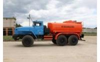 Изображение АТЗ-7,5 на шасси Урал (Топливозаправщик 7,5 м/куб)