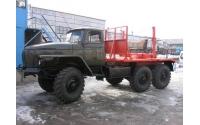 Изображение Лесовоз УРАЛ 4320 ДВС ЯМЗ-236