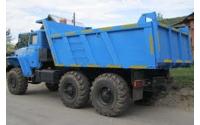 Изображение Самосвал Урал 55571 (грузоподъемность 10 тонн)