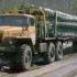 Лесовоз УРАЛ 55571-70 с самозатягиванием роспуска (Лесовозный автопоезд)