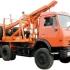Лесовоз КАМАЗ 43118 с системой самопогрузки прицепа-роспуска