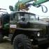 Лесовоз УРАЛ 4320 с манипулятором Атлант-С 90 ДВС ЯМЗ-236