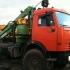 Лесовозный тягач на шасси КАМАЗ 43118 с гидроманипулятором