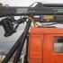 Лесовоз КАМАЗ 43118-24 с манипулятором ОМТЛ-97 и прицепом-роспуском (телескоп)