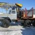 Лесовозный тягач УРАЛ 55571 c манипулятором ОМТЛ-97