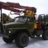 Лесовозный тягач УРАЛ 55571 c манипулятором ОМТЛ-70.02
