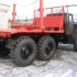 Лесовоз УРАЛ 4320 ДВС ЯМЗ-236